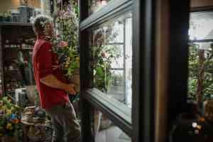 foto 1 van project Bloemen winkel