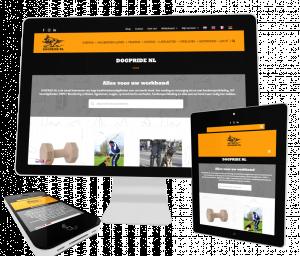 foto 1 van project Webshop voor honden accessoires en benodigdheden