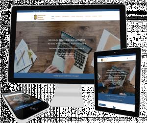 foto 1 van project Website voor administratiekantoor