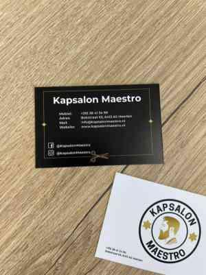 foto 3 van project Website & Huisstijl - Kapsalon Maestro