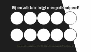 foto 1 van project Logo & Drukwerk - Kapsalon Fresh
