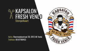 foto 3 van project Logo & Drukwerk - Kapsalon Fresh