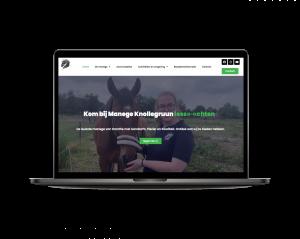 foto 1 van project Website voor Manege Knollegruun