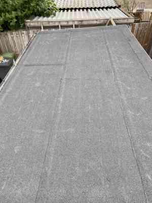 foto 1 van project Vernieuwe van schuur dak
