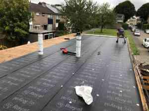 foto 3 van project Dakrenovatie van garagebox in Amersfoort